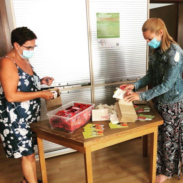 Präventionsarbeit der Aidshilfe Heidelberg in Kooperation mit Feecup
