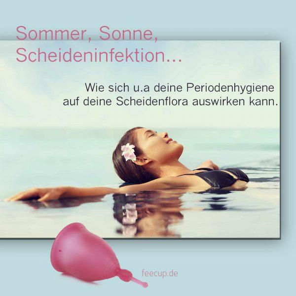 Sommer, Sonne – Scheideninfektion…